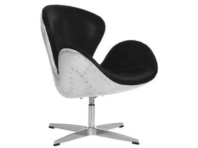 Bild von Stuhl-Design Swan Spitfire Sessel AJ - Schwarz