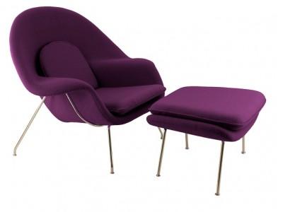 Bild von Stuhl-Design Womb Sessel - Lila