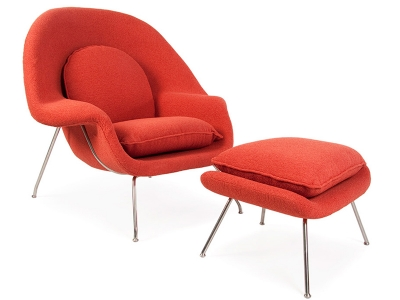 Bild von Stuhl-Design Womb Sessel - Orange
