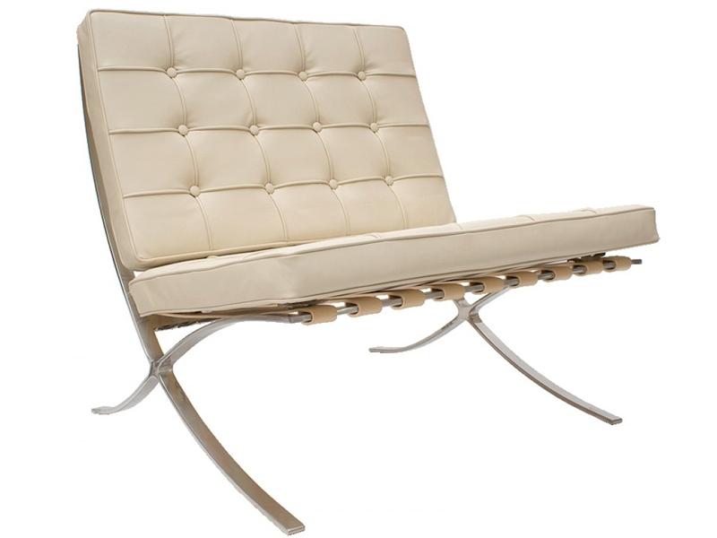 barcelona sessel creme. Black Bedroom Furniture Sets. Home Design Ideas