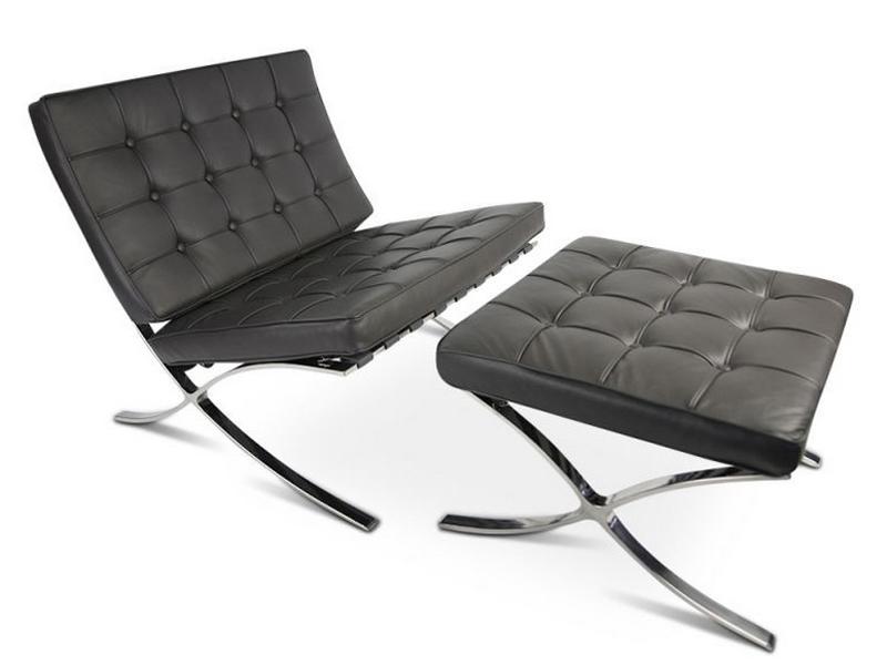 barcelona sessel dunkelgrau. Black Bedroom Furniture Sets. Home Design Ideas