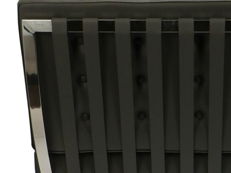 Bild von Stuhl-Design Barcelona Sessel - Grau
