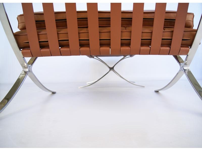 Bild von Stuhl-Design Barcelona Sessel - Havanna