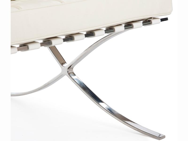 Bild von Stuhl-Design Barcelona Sofa 3 Sitzer - Creme
