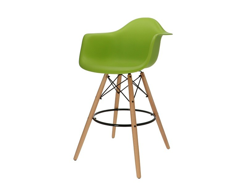 Bild von Stuhl-Design Barstuhl DAB - Apfelgrün