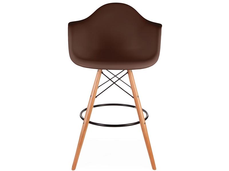 Bild von Stuhl-Design Barstuhl DAB - Kaffee