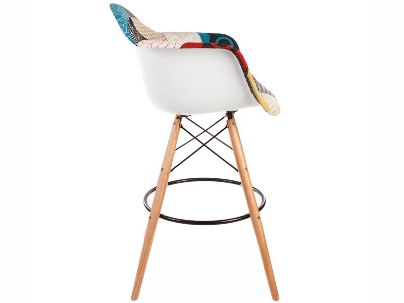 Bild von Stuhl-Design Barstuhl DAB - Patchwork
