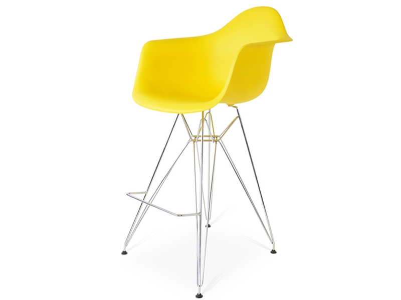 Bild von Stuhl-Design Barstuhl DAR - Gelb