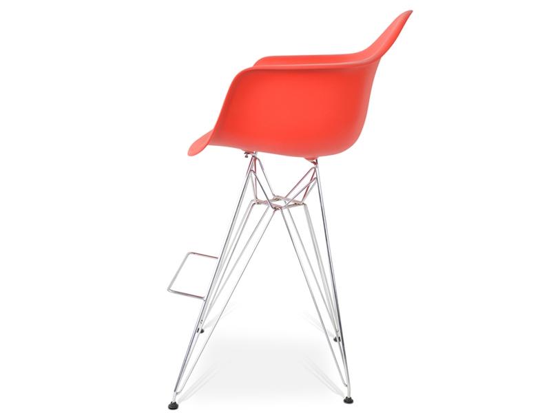 Bild von Stuhl-Design Barstuhl DAR - Rot