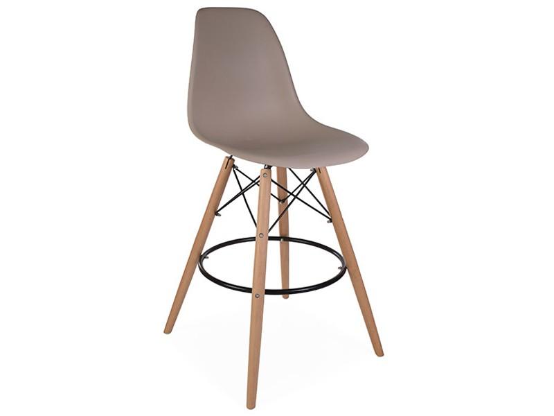 Bild von Stuhl-Design Barstuhl DSB - Grau beige