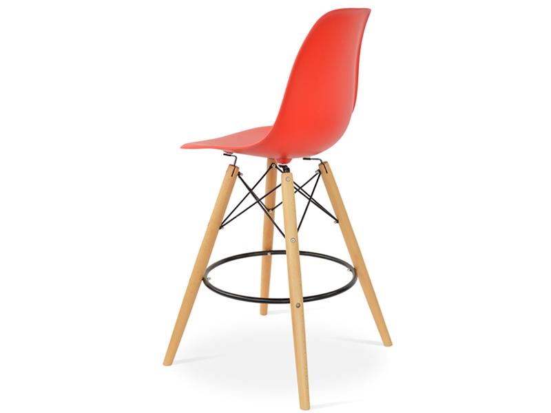 Bild von Stuhl-Design Barstuhl DSB - Hellrot