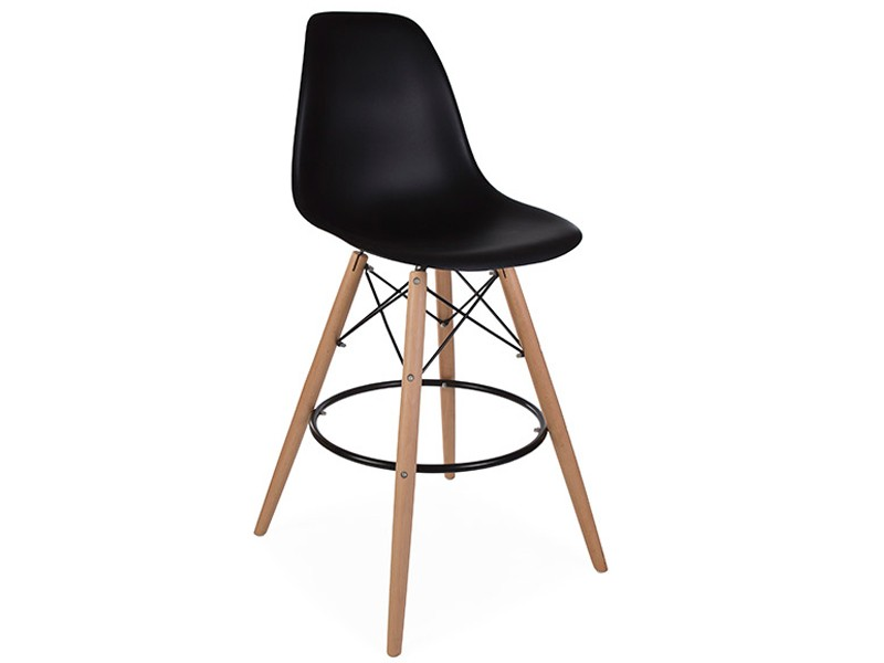 Bild von Stuhl-Design Barstuhl DSB - Schwarz