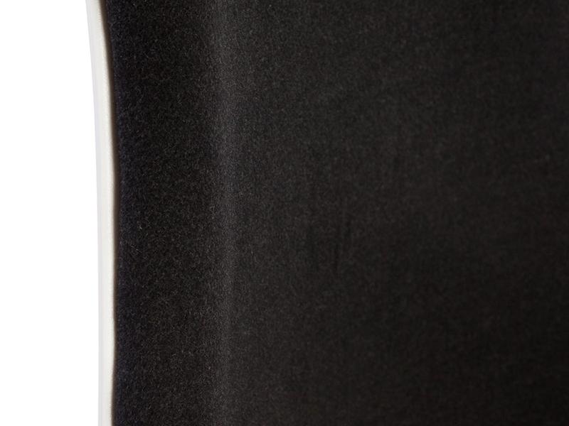 Bild von Stuhl-Design Barstuhl DSB Wollpolsterung - Grau