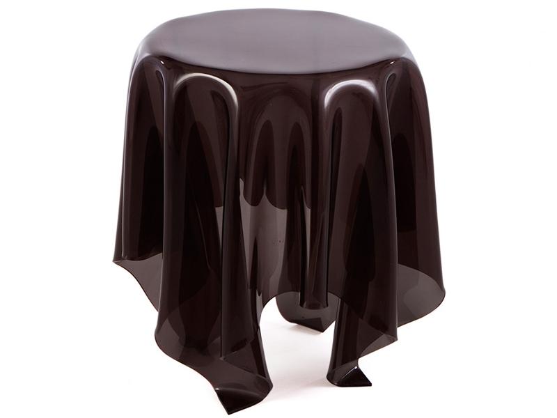 Beistelltisch illusion schwarz for Beistelltisch design schwarz