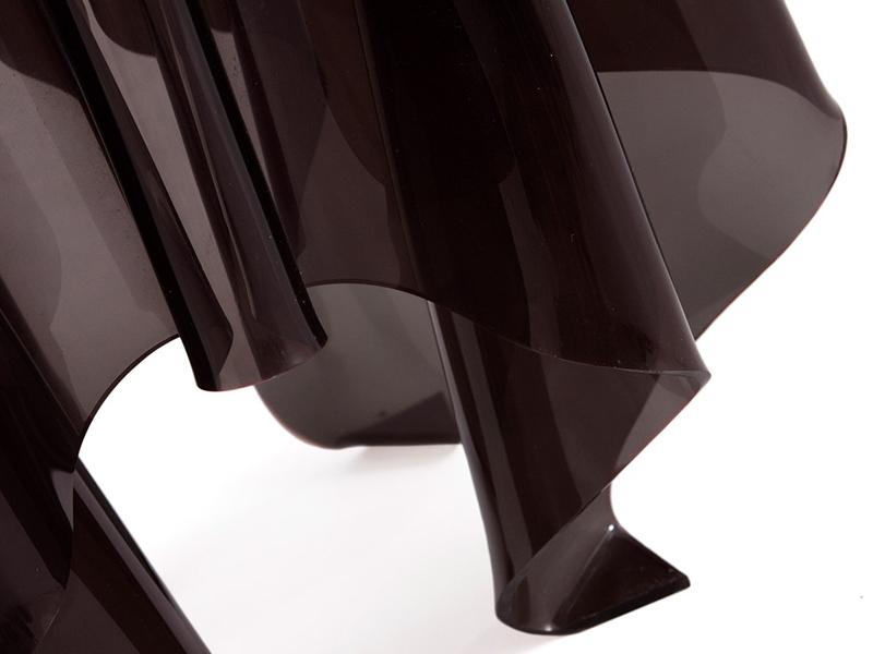 Bild von Stuhl-Design Beistelltisch Illusion - Schwarz