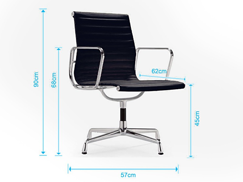 Bild von Stuhl-Design Besucherstuhl EA108 - Apfelgrün