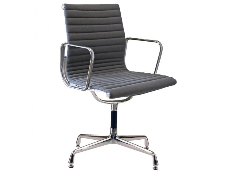 Bild von Stuhl-Design Besucherstuhl EA108 - Grau