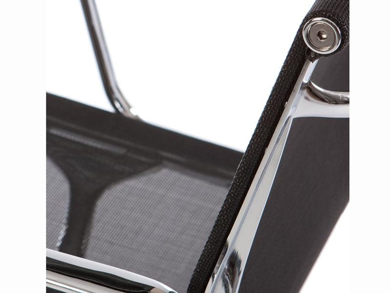 Bild von Stuhl-Design Besucherstuhl EA108 - Schwarz
