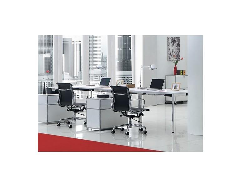 Bild von Stuhl-Design Büromöbel - AMC33-02 Weiß
