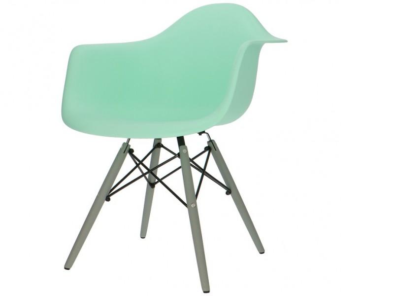 Bild von Stuhl-Design COSY Holz Stuhl - Minzgrün