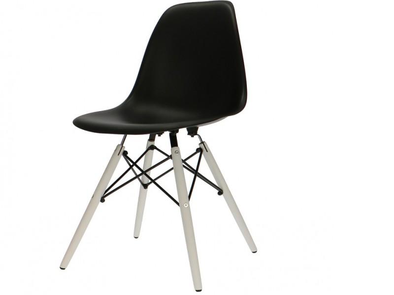 Bild von Stuhl-Design COSY Holz Stuhl - Schwarz