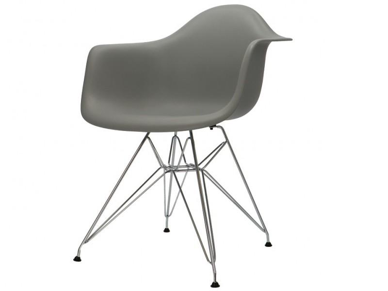 Bild von Stuhl-Design COSY Metall Stuhl - Grau