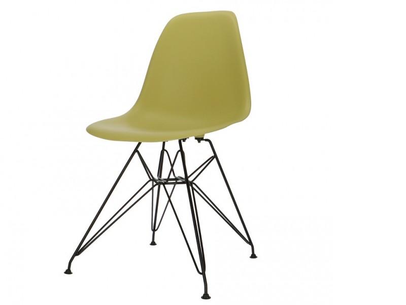 Bild von Stuhl-Design COSY Metall Stuhl - Olivgrün
