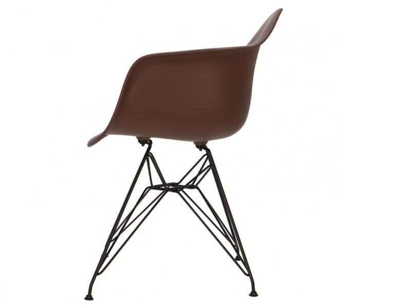 Bild von Stuhl-Design DAR Eames Stuhl - Braun