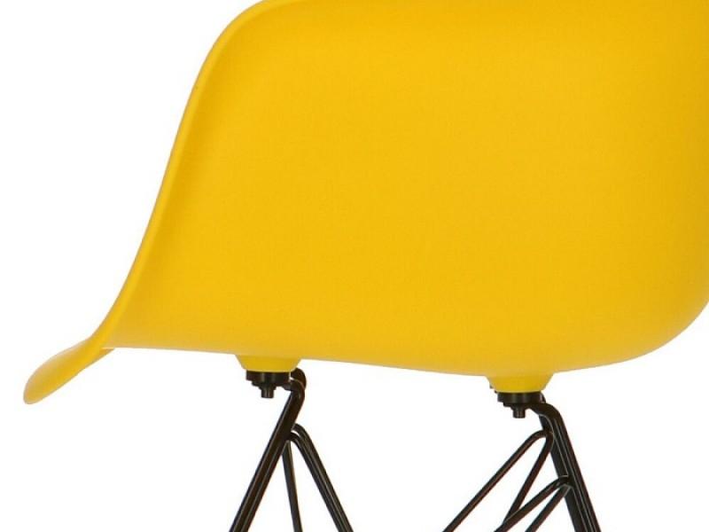 Bild von Stuhl-Design DAR Eames Stuhl - Gelb