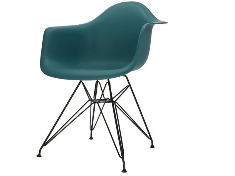 Bild von Stuhl-Design DAR Stuhl - Blau grün