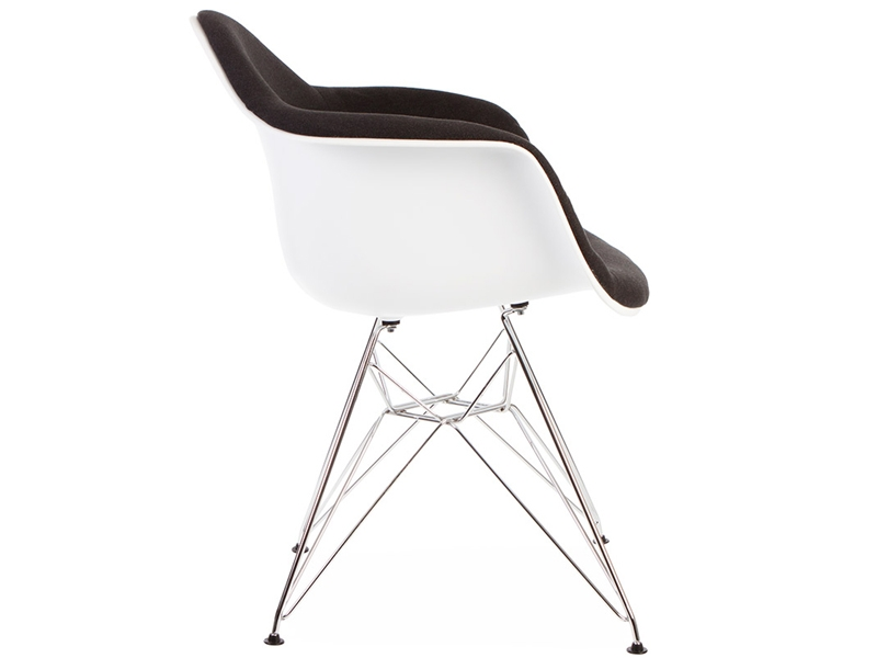 dar stuhl wollpolsterung grau. Black Bedroom Furniture Sets. Home Design Ideas