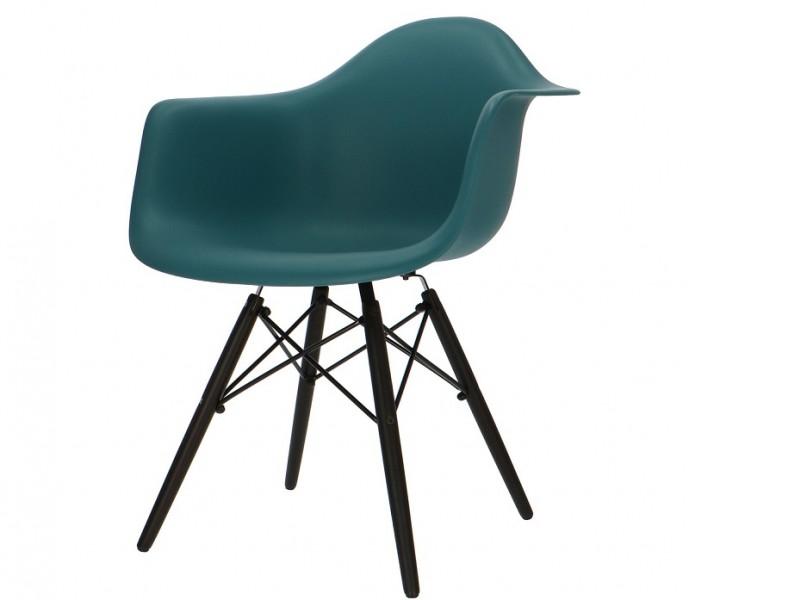 Bild von Stuhl-Design DAW Eames Stuhl - Blau grün