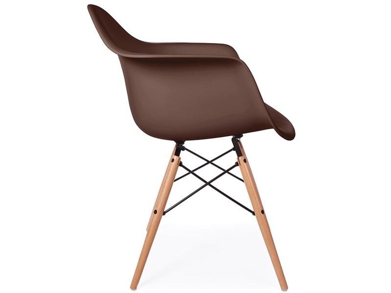 Bild von Stuhl-Design DAW Eames Stuhl - Kaffee