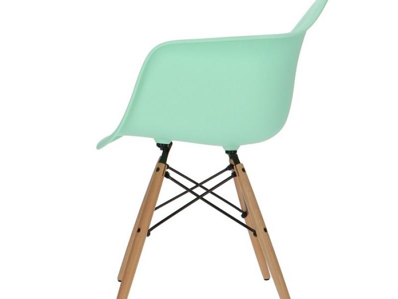 Bild von Stuhl-Design DAW Eames Stuhl - Minzgrün