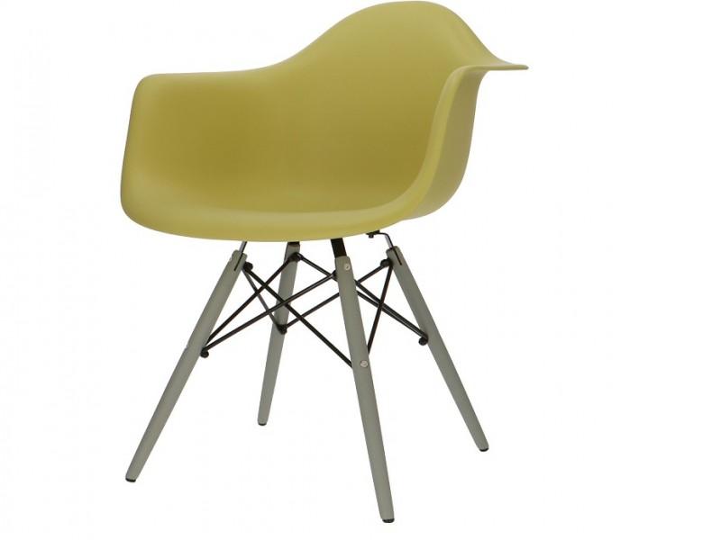Bild von Stuhl-Design DAW Eames Stuhl - Olivgrün