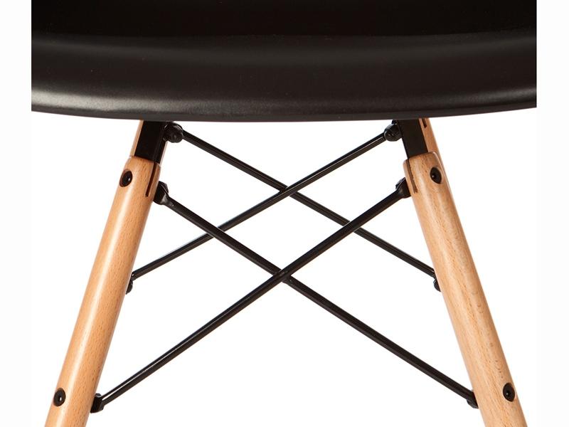 daw eames stuhl schwarz. Black Bedroom Furniture Sets. Home Design Ideas