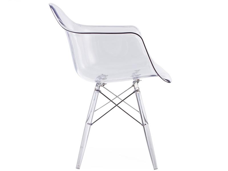 Daw stuhl all ghost durchsichtig for Design stuhl durchsichtig