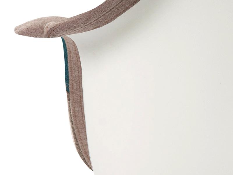 Bild von Stuhl-Design DAW Stuhl Wollpolsterung - Blau Patchwork
