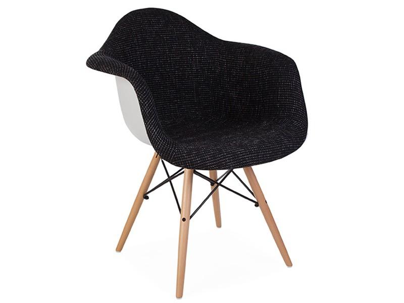 Daw stuhl wollpolsterung noir for Design stuhl daw