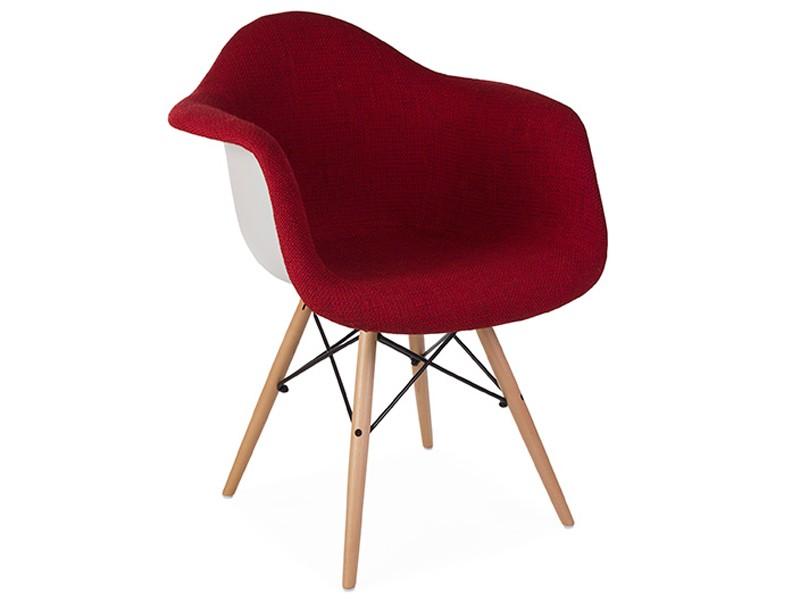Bild von Stuhl-Design DAW Stuhl Wollpolsterung - Rot