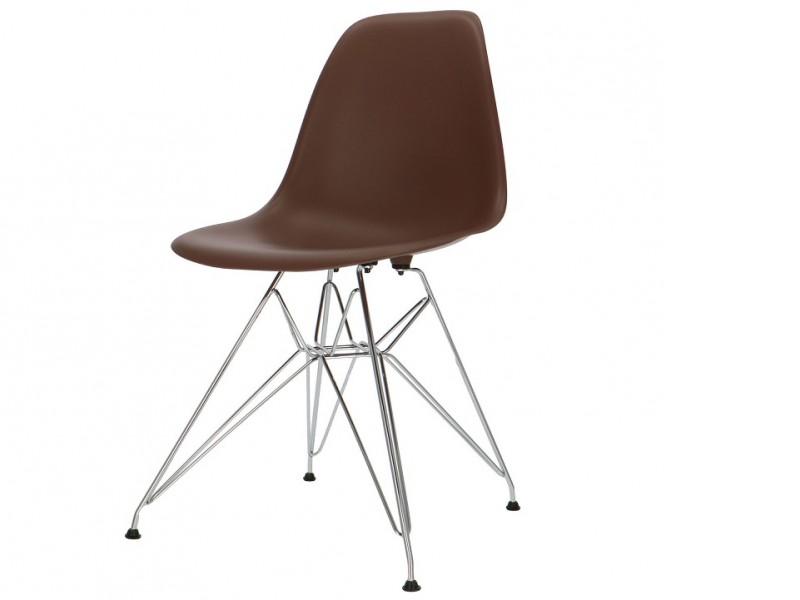 Bild von Stuhl-Design DSR Eames Stuhl - Braun
