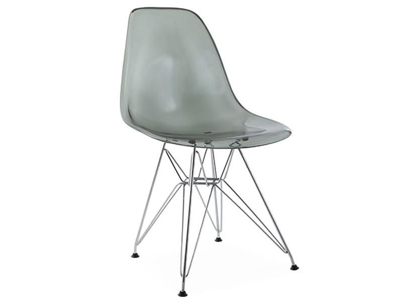 Dsr stuhl durchsichtigt grau for Design stuhl durchsichtig
