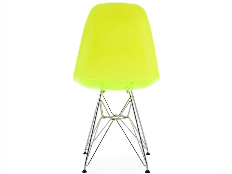Bild von Stuhl-Design DSR Eames Stuhl - Durchsichtig Grün