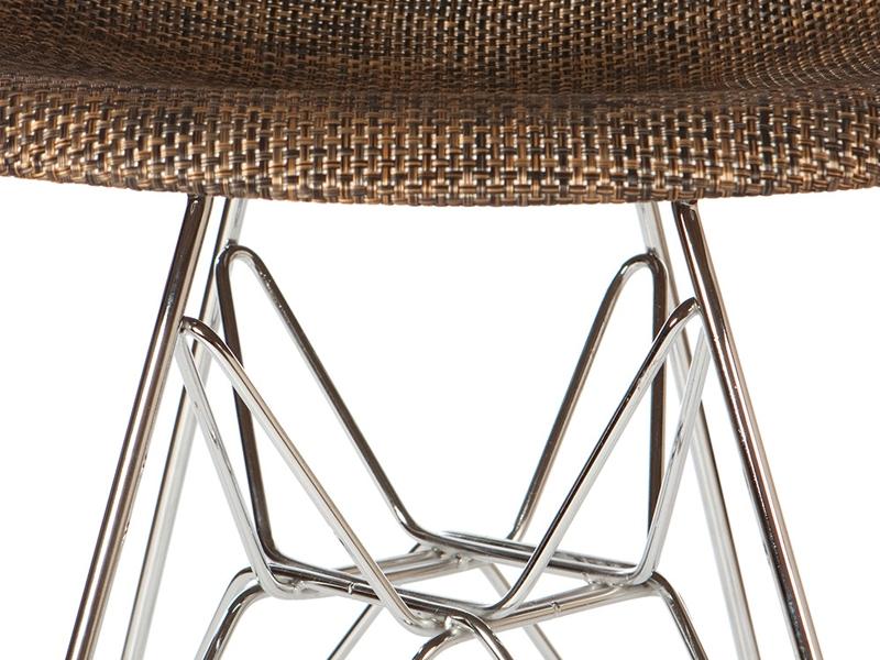 Bild von Stuhl-Design DSR Eames Stuhl Textur - Kakao