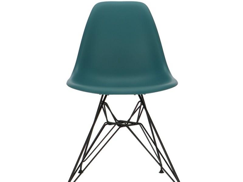 Bild von Stuhl-Design DSR Stuhl - Blau grün