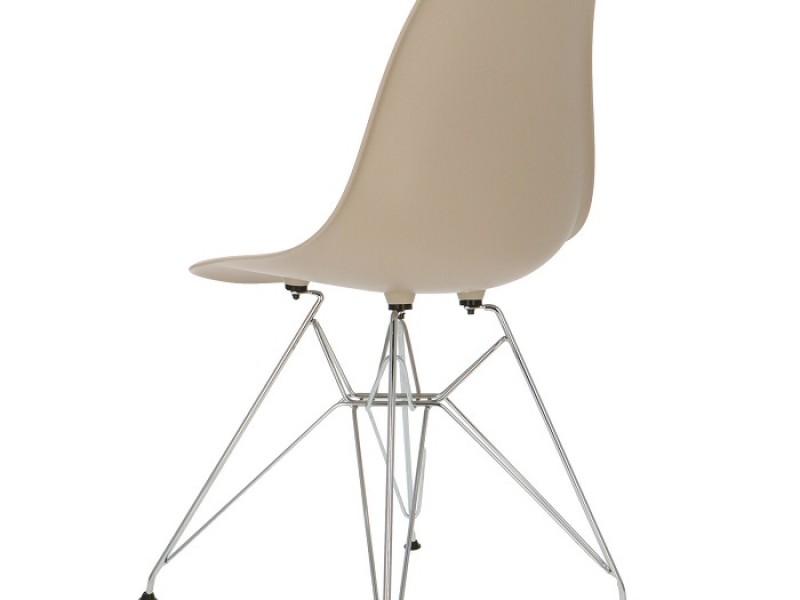 Bild von Stuhl-Design DSR Stuhl - Grau Beige