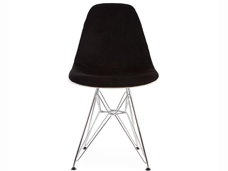 Bild von Stuhl-Design DSR Stuhl Wollpolsterung - Schwarz