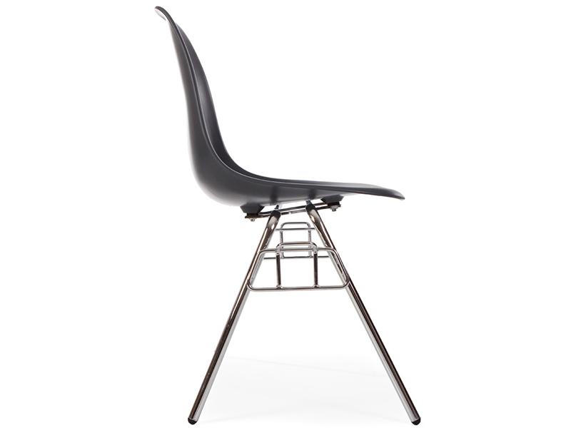 Bild von Stuhl-Design DSS Eames Stuhl Stapelbar - Anthrazit