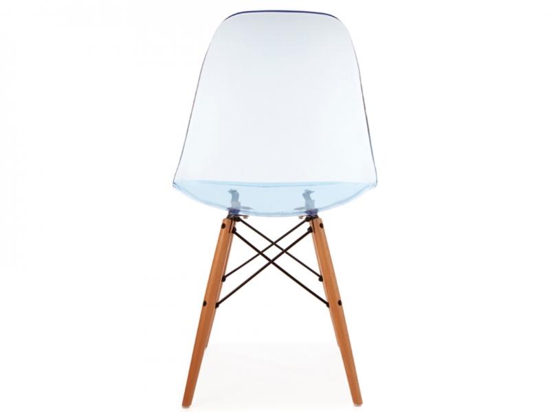 Bild von Stuhl-Design DSW Eames Stuhl - Durchsichtig Blau