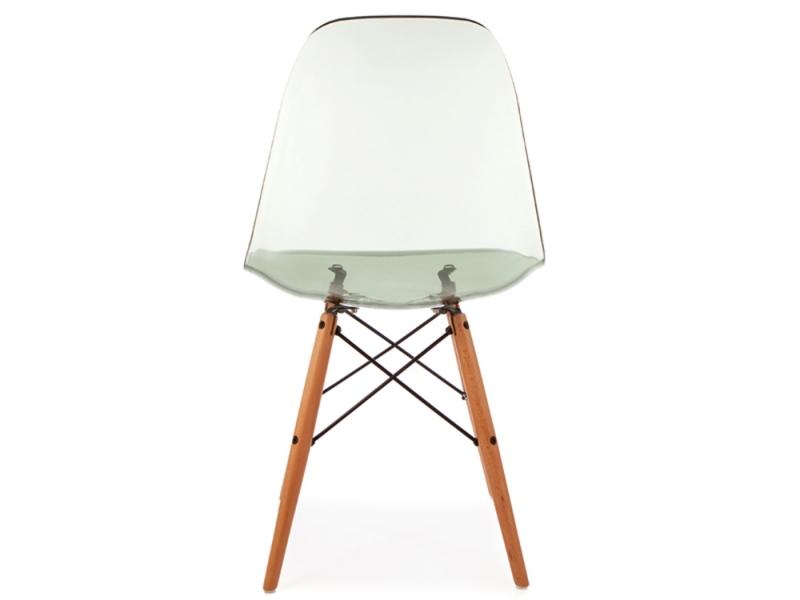 Dsw stuhl durchsichtig grau for Design stuhl durchsichtig